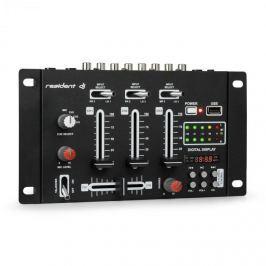 Resident DJ DJ-21 BT DJ-mixer keverő pult, USB, fekete