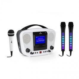 Auna KaraBanga karaoke rendszer + Dazzl mikrofon szett, bluetooth, TFT kijelző