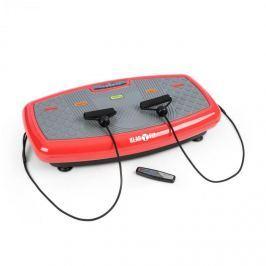 Klarfit Vib 1000 vibrációs tréner, 5 üzemmód, állítható időtartam és intenzitás, piros