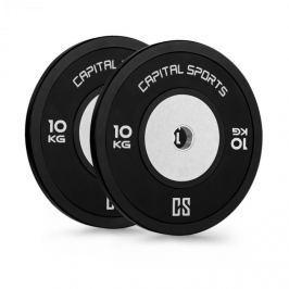 CAPITAL SPORTS Inval Hi-Grade, tárcsasúlyok, 50mm alumínium mag, gumi, 2x10kg
