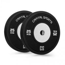 CAPITAL SPORTS Inval Hi-Grade versenytárcsák, 50 mm, alumínium mag, 2 x 25 kg