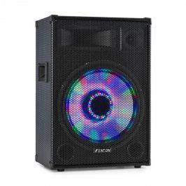"Fenton TL15LED, 3-utas passzív hangfal, RGB-LED, 15"" woofer 800W, tweeter, horn"