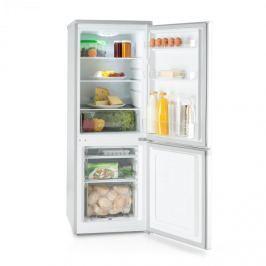 Klarstein Bigpack, kombinált hűtőszekrény, fagyasztó, 160 l, A+, 42 dB, ezüst