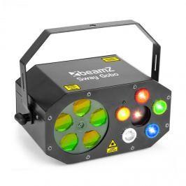 Beamz Sway Gobo Laser Gobo RGBWA, Strobe RGBWA és Laser RG, távirányító