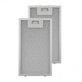 Klarstein zsírszűrő, pótszűrő, alumínium, 18,5 x 31,8 cm, 2 darab, tartozék