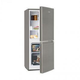 Klarstein Big Daddy Cool 100 kombinált hűtőszekrény fagyasztóval, 106 liter , A+, nemesacél hatás