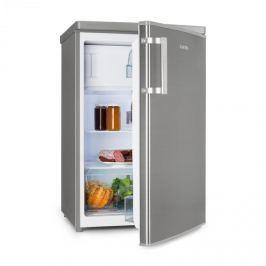 Klarstein CoolZone 120 Eco hűtőszekrény fagyasztóval, A+++, 118 liter, nemesacél hatás