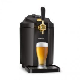 Klarstein Skal, sörcsap, sörhűtő, 5 literes hordó, CO2, fekete