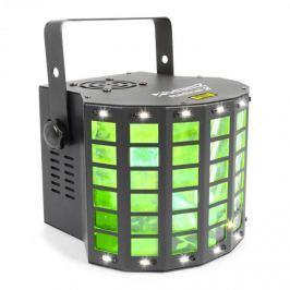 Beamz Radical 2 3 az 1-ben fényeffekt, 4x 3W RGBW LED, piros/zöld lézer, 4 DMX csatorna