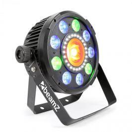 Beamz BX96 PAR 9X9W 6 AZ 1-BEN, RGBW-UV LED, 24XSMD-LED, COB TECHNOLÓGIA, TÁVIRÁNYÍTÓ