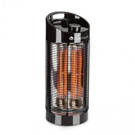 Blumfeldt Heat Guru 360, álló hősugárzó, kinti hősugárzó, 1200/600 W, 2 fűtési fokozat,IPX4, fekete