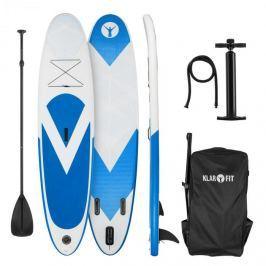 Klarfit Spreestar, felfújható paddleboard, SUP deszka, 300x10x71cm, kék-fehér