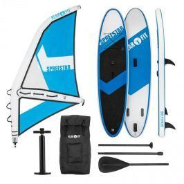 Klarfit Spreestar WM, felfújható paddleboard, sup-board-set, 300x10x71, kék-fehér