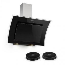 Klarstein Sabia 90, páraelszívó, 90 cm, 2 x aktív szén filterrel, fekete