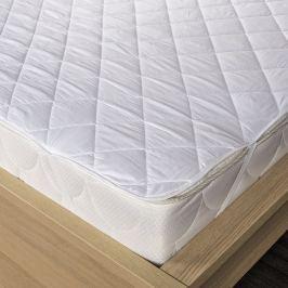 Kvalitex Átvarrott matracvédő fehér , 90 x 200 cm