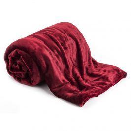 XXL pléd / Ágytakaró piros, 200 x 220 cm