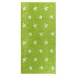 Stars törölköző, zöld, 70 x 140 cm, 70 x 140 cm