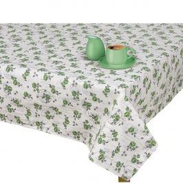 BELLATEX Ivo terítő zöld Rózsa pecséttel