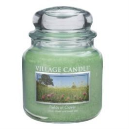 Village Candle illatgyertya Zöld mező - Fields of Clover, 397 g