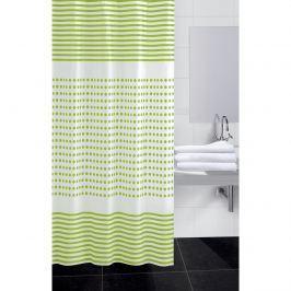 Darja zuhanyfüggöny, zöld, 180 x 180 cm