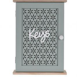Trento kulcstartó láda, zöld, 28 x 20 cm