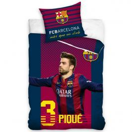 Tip Trade FC Barcelona Pique pamut ágyneműhuzat, 140 x 200 cm, 70 x 80 cm, 140 x 200 cm, 70 x 80 cm