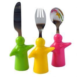 Gyermek evőeszköz készlet Figurák
