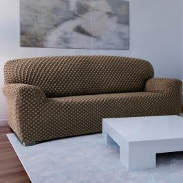 Forbyt Contra multielasztikus kanapéhuzat bézs színű, 180 - 220 cm