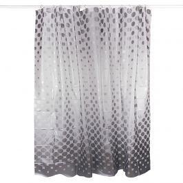 PEVA pöttyös zuhanyfüggöny, 180 x 180 cm