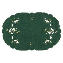 Forbyt Karácsonyi fagyöngy terítő zöld, 31 x 45 cm