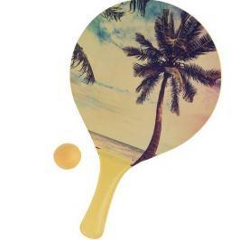 Summer strandtenisz készlet, sárga
