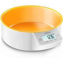 Sencor SKS 4004OR konyhai mérleg, narancssárga