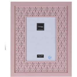 Trento képkeret, rózsaszín, 28,5 x 23,5 cm