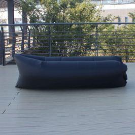 Lazy Bag önfelfújható hálózsák, fekete