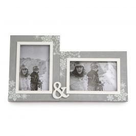 Love Winter dupla fényképkeret  31,5 x 18 cm