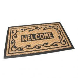 Kültéri kókusz lábtörlő Welcome II, 45 x 75 cm