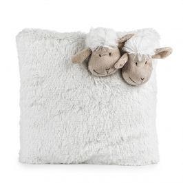 BO_MA Trading Bárányka kispárna fehér, 35 x 35 cm