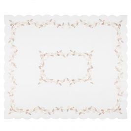 Fehér magyal karácsonyi abrosz, 120 x 140 cm, 120 x 140 cm