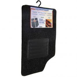 Autószőnyeg Gestire fekete, 4 db-os szett