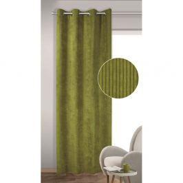 Albani Brit sötétítő függöny karikákkal, zöld, 135 x 245 cm