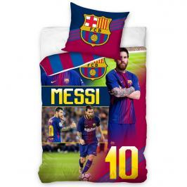 FC Barcelona Messi pamut ágynemű, 140 x 200 cm, 70 x 90 cm
