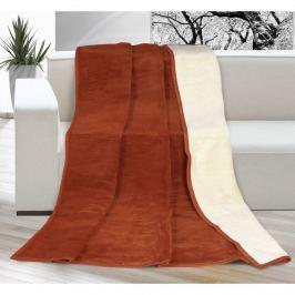 Bellatex Kira ágytakaró terrakota/bézs színű, 200 x 230 cm, 200 x 230 cm