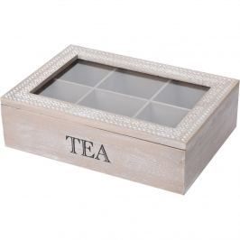Tea teadoboz 24 x 16,5 x 7 cm