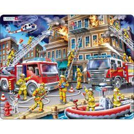 Larsen Puzzle Tűzoltók munka kӧzben, 45 darab