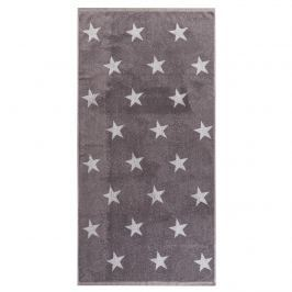 Stars törölköző, szürke, 70 x 140 cm, 70 x 140 cm