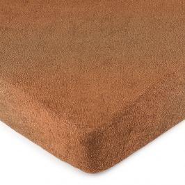 4Home frottír lepedő barna, 160 x 200 cm, 160 x 200 cm