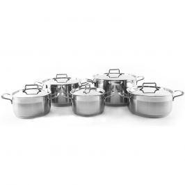 Orion Anett 10 részes rozsdamentes acél edénykészlet