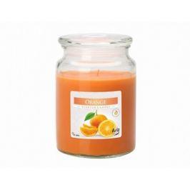 Illatos gyertya pohárban Narancs, 500 g