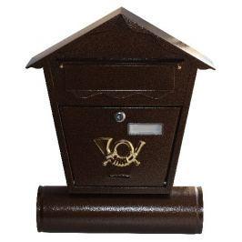 Antika postaláda, barna