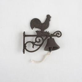 Öntӧttva csengő Kakas, 20 cm